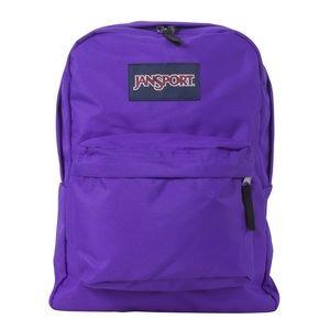 JanSport Purple Backpack